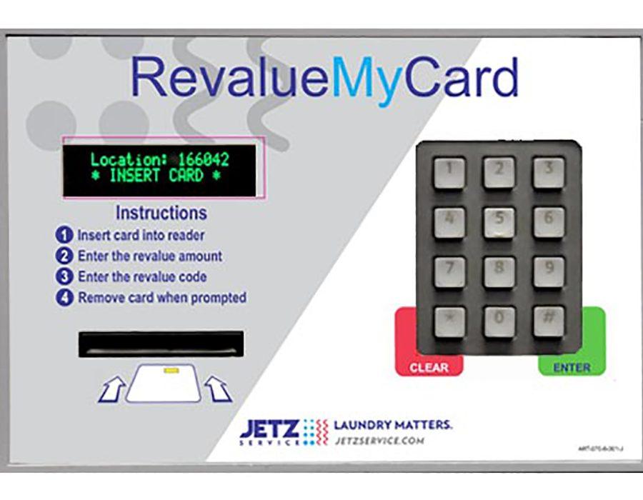 Cash Based Reload Box