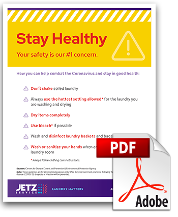 Stay Healthy Tips Poster